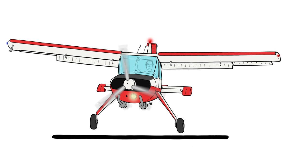 Wilga 2000 Landing by Maxioo on DeviantArt