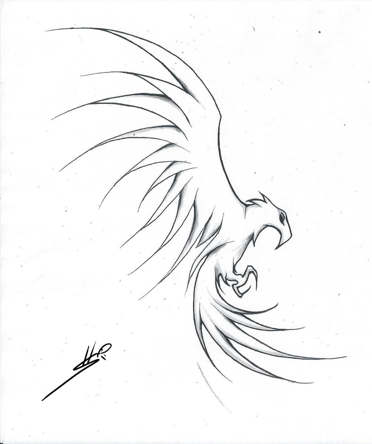 Drawing Smooth Lines In Flash : Tattoo flash eagle by roadkingin on deviantart