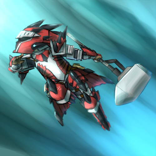Rathalos Armor By Atticus83 On Deviantart