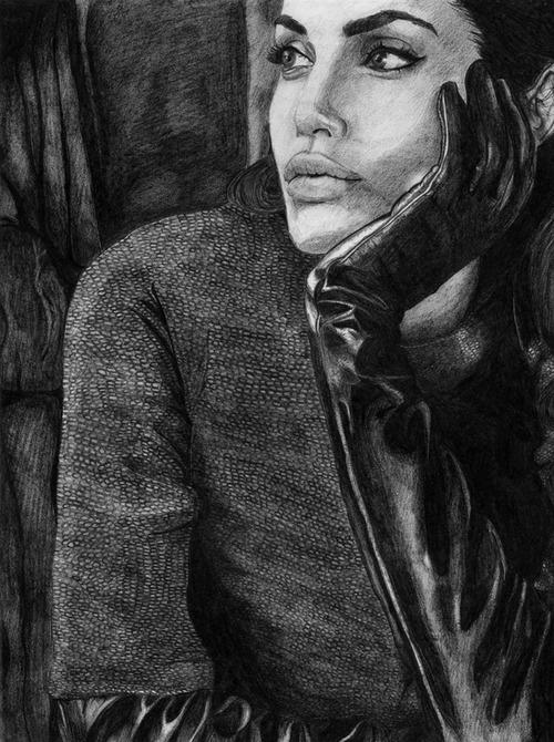 Angelina Jolie by Katsenhakeron on DeviantArt