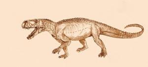Prestosuchus by Kahless28