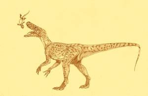 Staurikosaurus by Kahless28