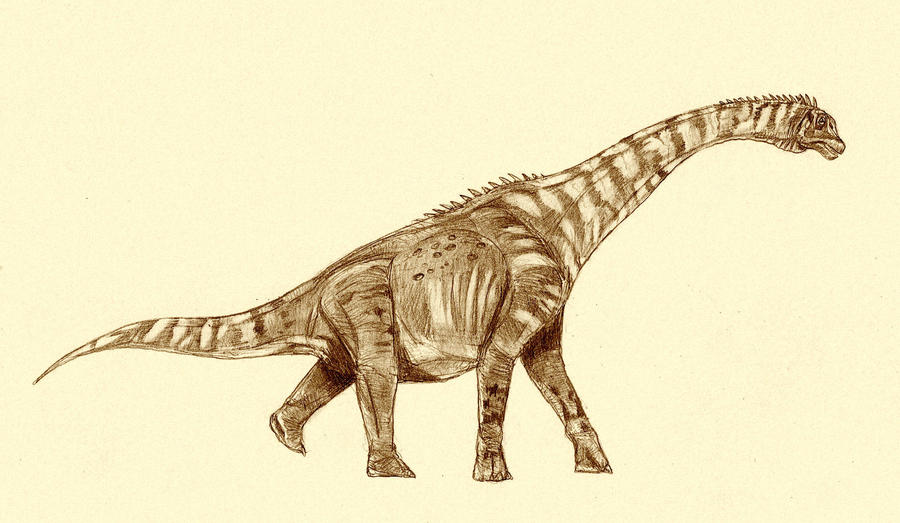 Abydosaurus by Kahless28