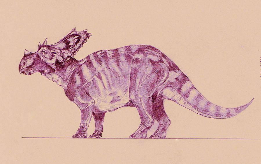 'Utahceratops' by Kahless28