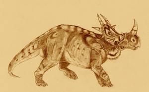Rubeosaurus by Kahless28