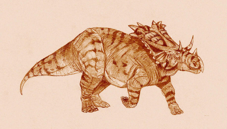 Mojoceratops by Kahless28