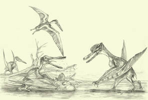 pterosaurs 3 by Kahless28