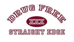 DRUG FREE STRAIGHT EDGE