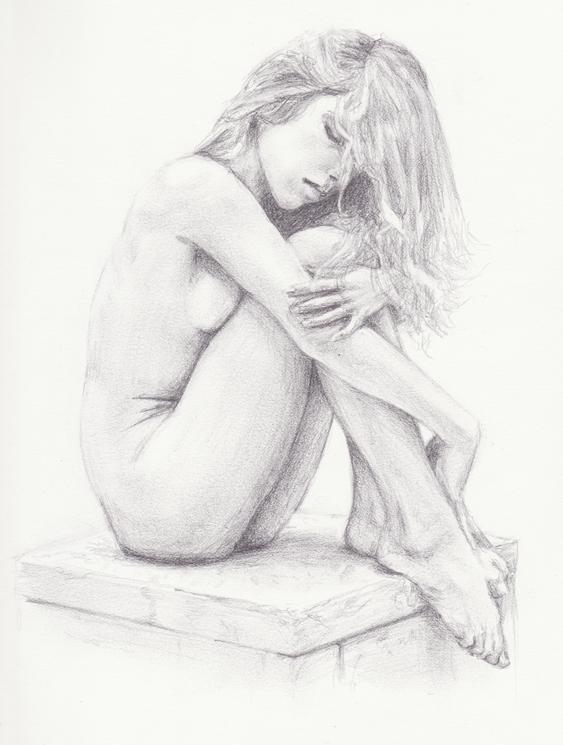 Nude portrait by reyler