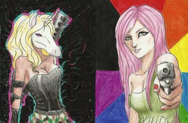 Unicorn Killer by Purikan