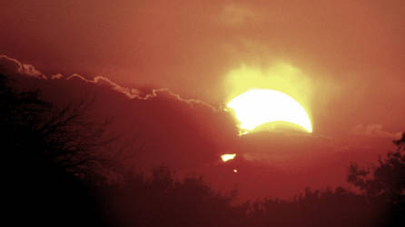Partial Eclipse by salrodriguez