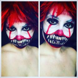 Day 5:Creepy the Clown by LovelyLiar