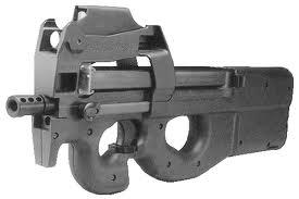 FN P90 by Swordsdragon