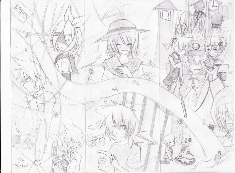 K+KK, S+KH, SOE. Drawing by Lin-Chann