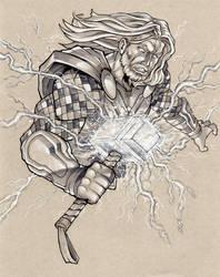 Thor's Hammer by SlyAguilar