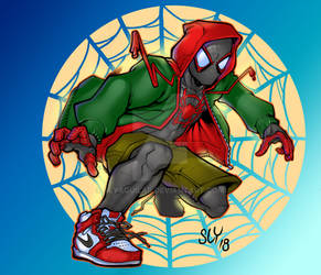 Miles into the spiderverse