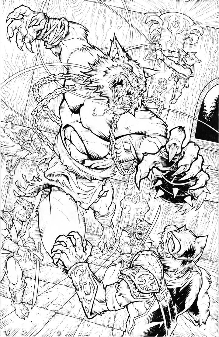 Battlecats page 2 by SlyAguilar