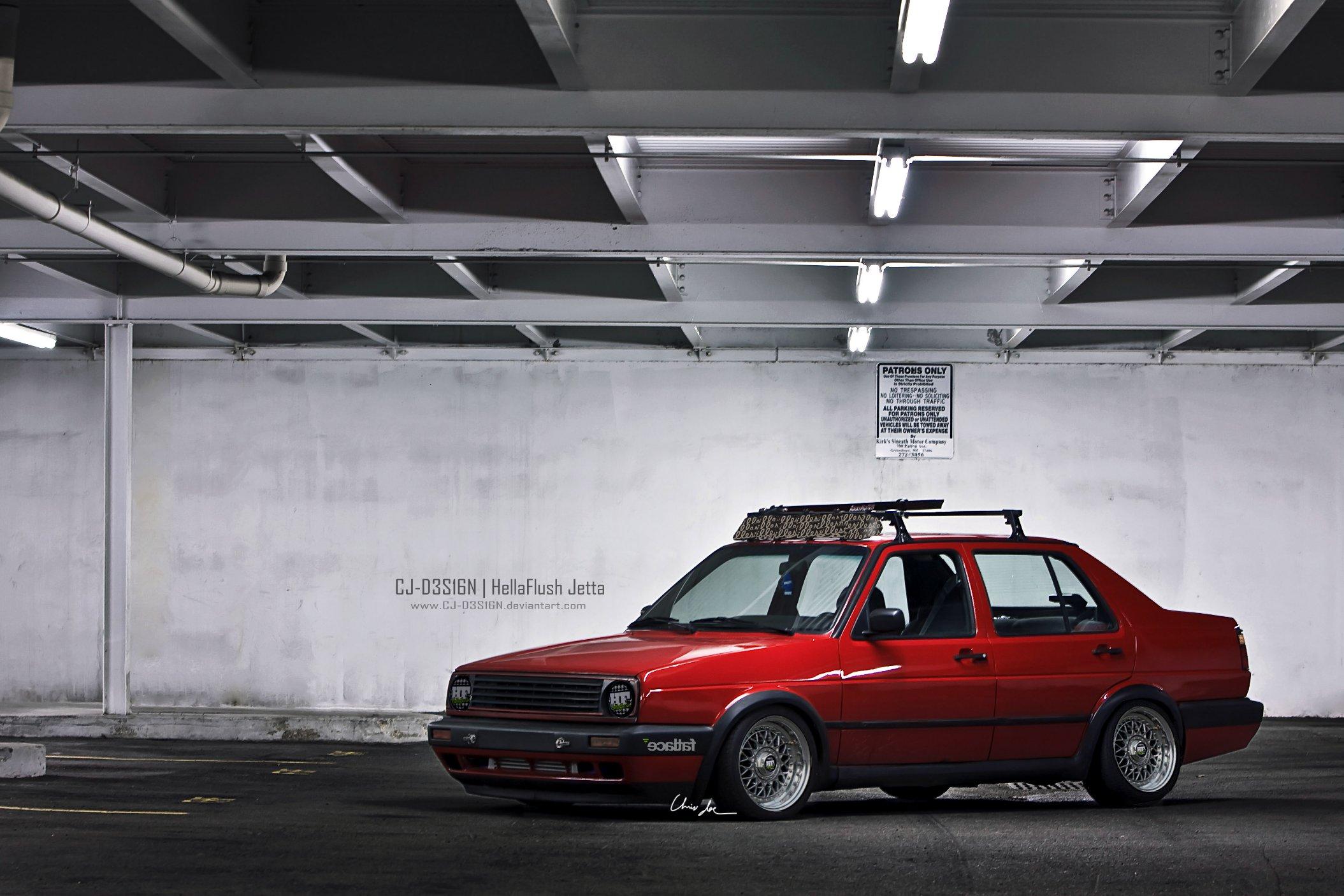 HellaFlush VW Jetta MK2 by