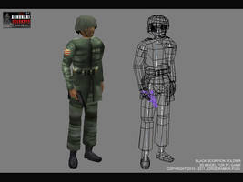 Annunaki Reloaded: Soldier by Nurendsoft