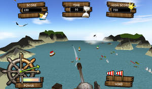 Canon Pirata 3D Gameplay 01 by Nurendsoft