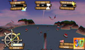 Canon Pirata 3D Gameplay 02 by Nurendsoft