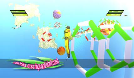 HIGH JUMP 3D - Screenshot 02 by Nurendsoft