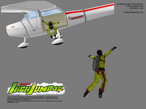 HIGH JUMP 3D - Game 3D models 00