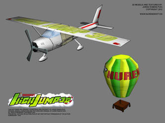 HIGH JUMP 3D - Game 3D models 01