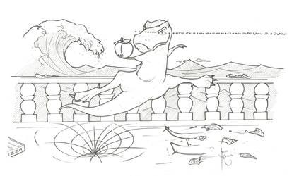 Graceful T-Rex