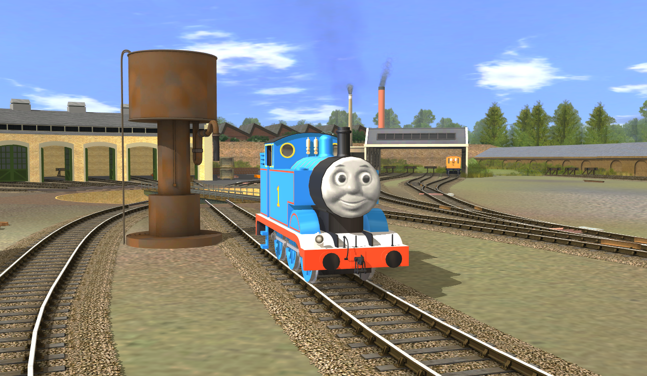 Thomas and Friends In Trainz - Trainz: A New Era by TheYoshiPunch on