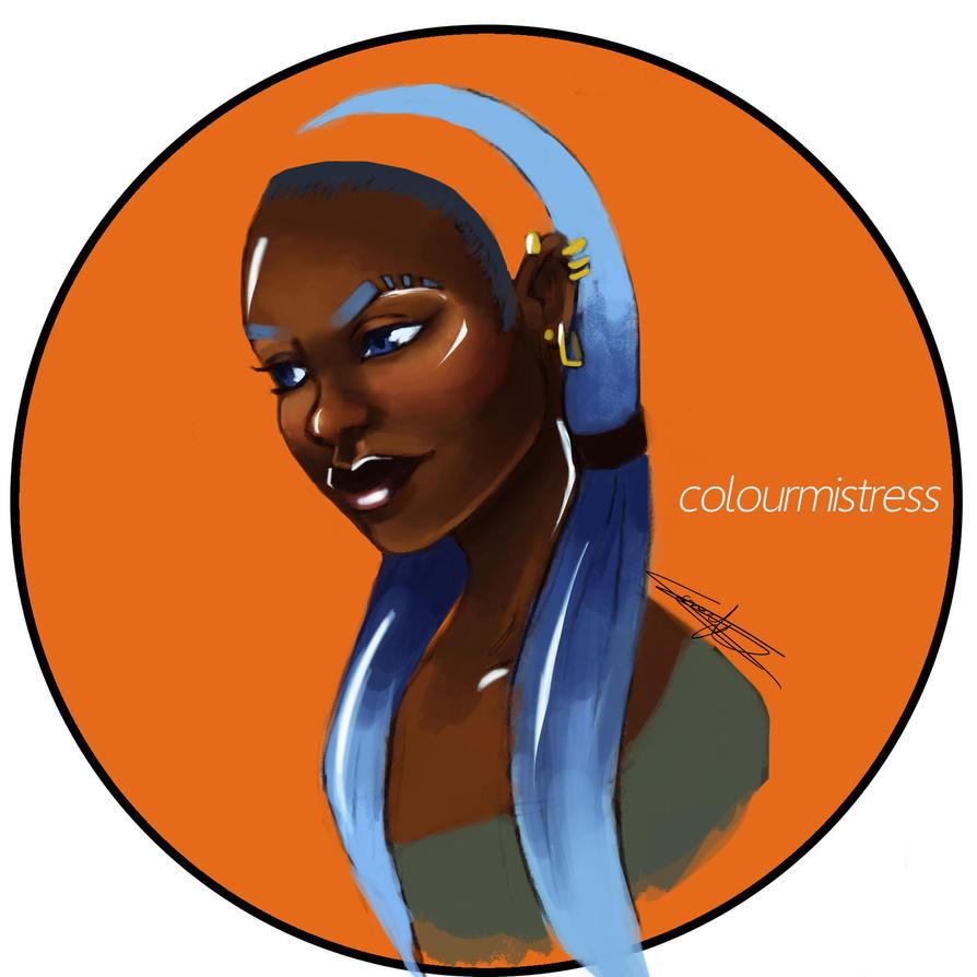 Orange and Blue by weird-enough-ya