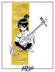 Inktober 2016: Day 01 - Kubo and the Two String
