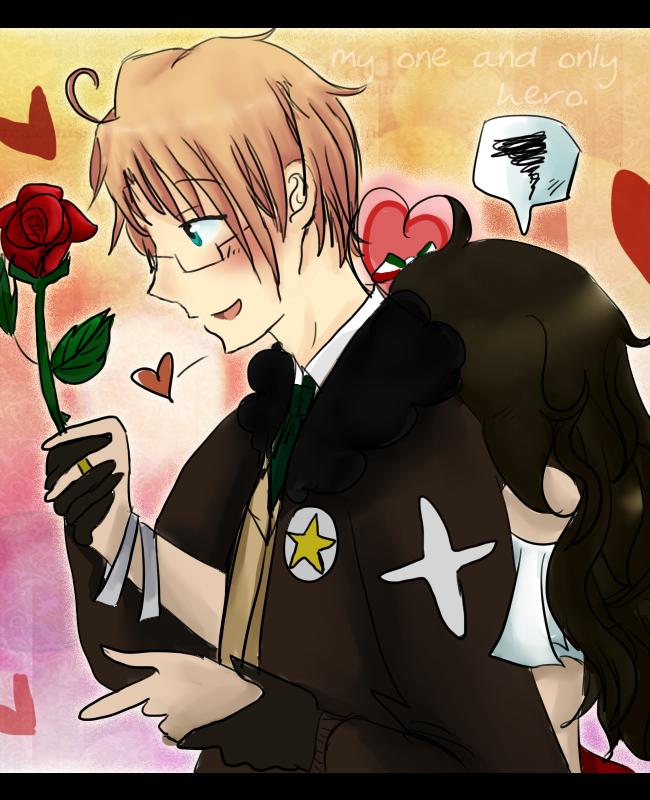 San Valentin, heroe. by SupremeChocolateLove
