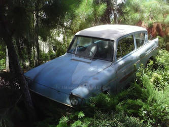 Weasley Car Harry Potter