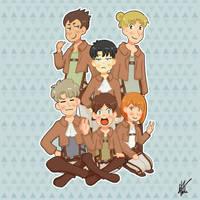 Levi's Squad by nyatche