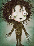 Edward scissorhands chibi