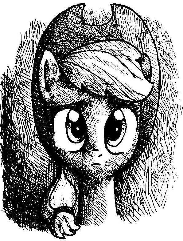 'Confused cowgirl' by SmellsLikeBeer