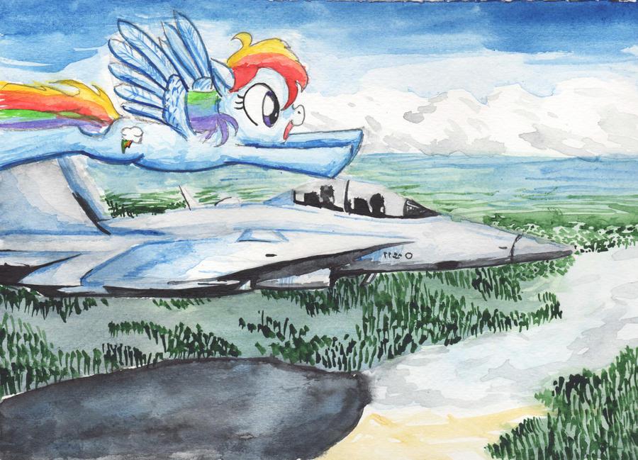 Boeing F 18C by SmellsLikeBeer