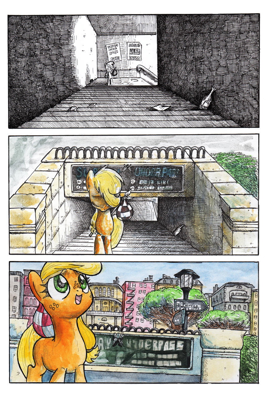 Lost in Manehattan: Hope by SmellsLikeBeer