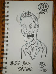 Defidessins 30ans: #22 Eric Salvail by SuperSaf