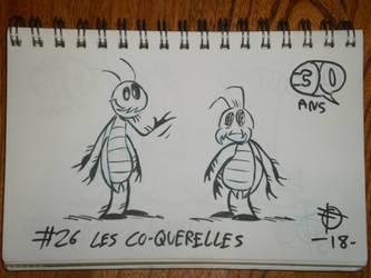 Defidessins 30ans: #26 les co-querelles by SuperSaf