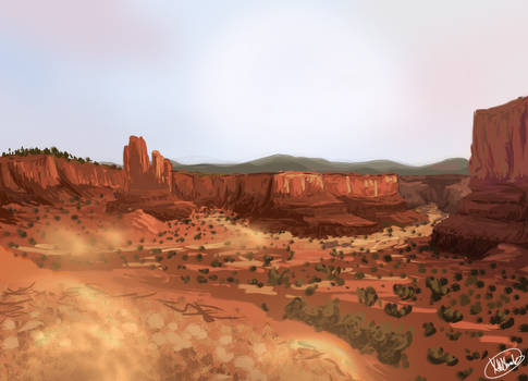 Red Dead Land