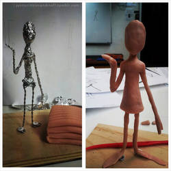 Maquette Process 1 by bloodonthemoon5