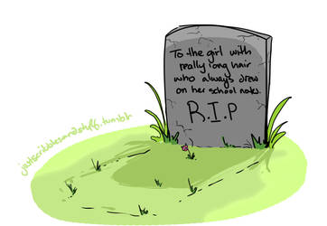 Accurate Tombstone by bloodonthemoon5