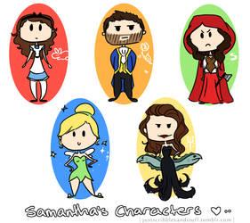 Sam's Characters