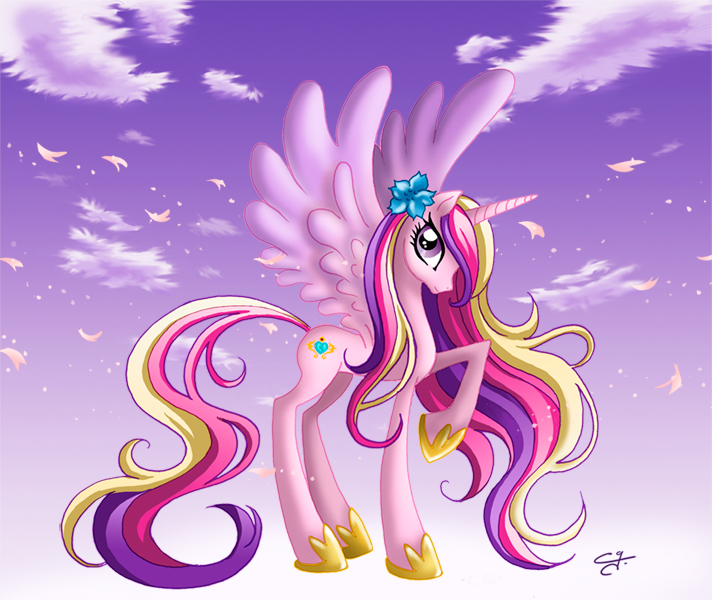 Princess Cadence by chargoz