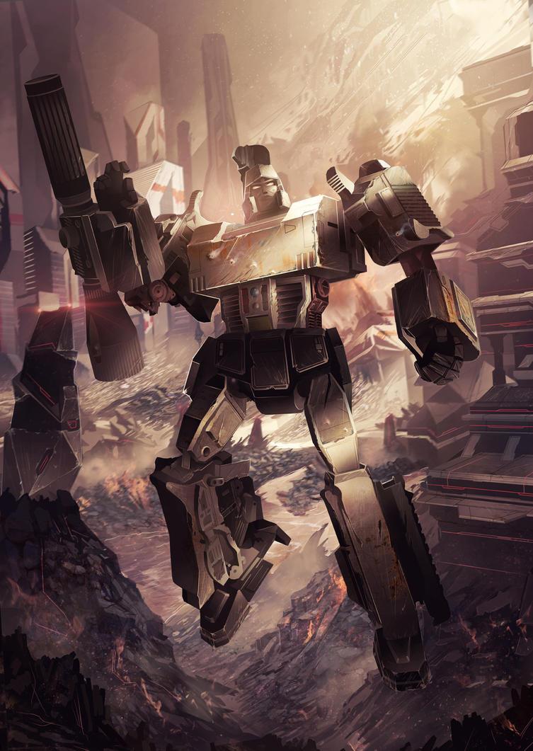 Megatron by Xylius