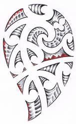 tattoo maori new by WillemXSM