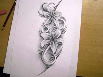 flower tats by WillemXSM