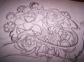 Sketch flowers by WillemXSM